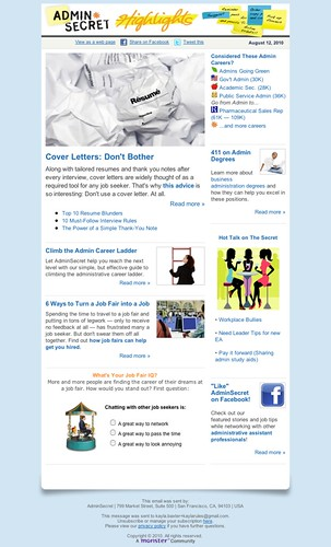 Newsletter layout/content design | by TangerineKlarb