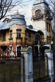 Art Nouveau Casino, Pärnu, Estonia.   May 1996