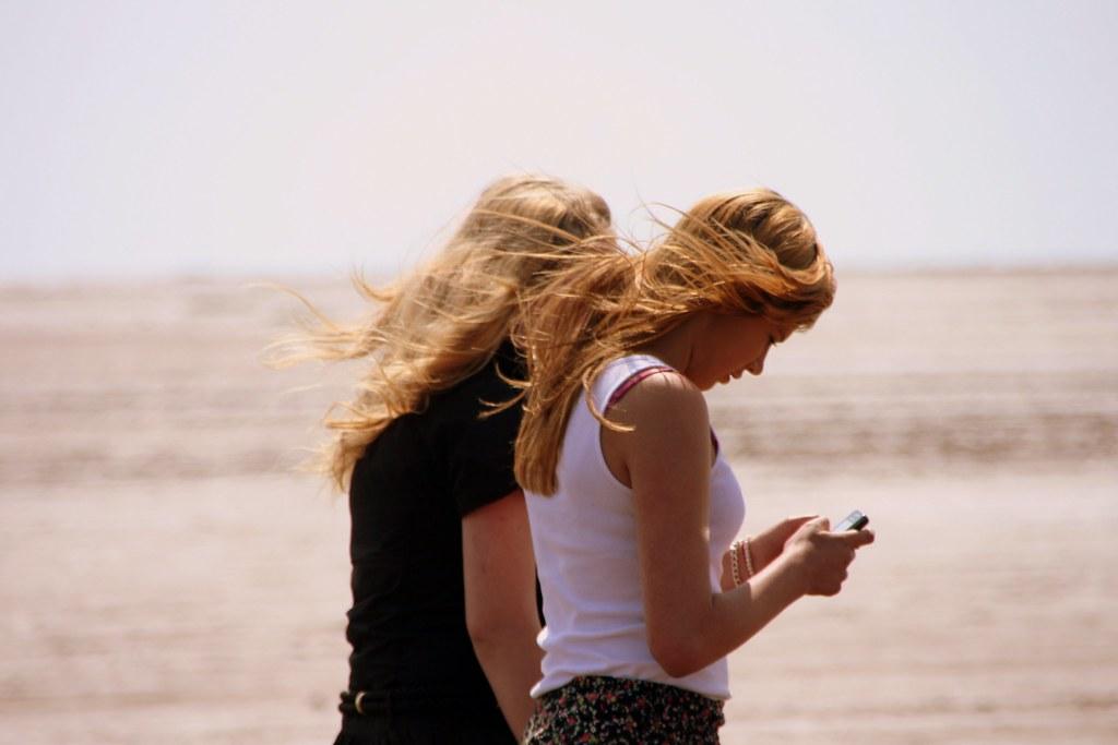 Text On The Beach