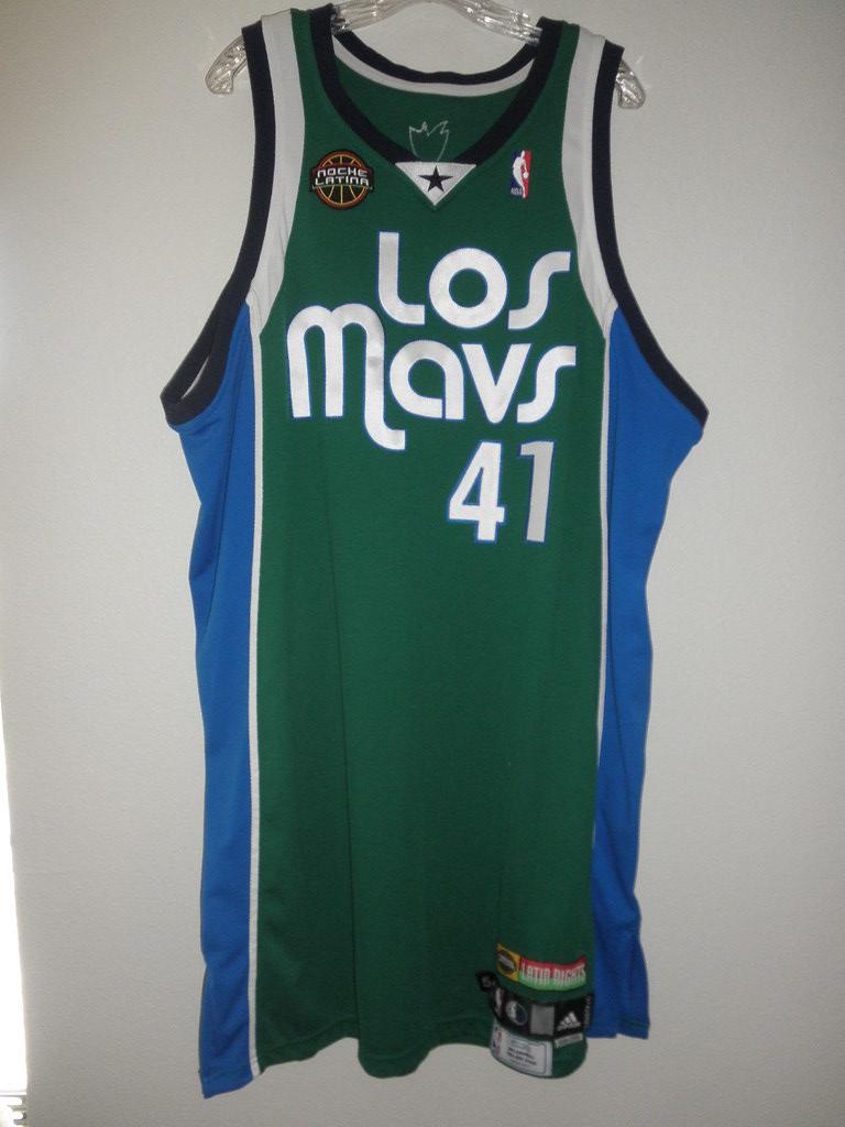 purchase cheap eab6a 68842 GameWorn - Dallas Mavericks alternate - Dirk Nowitzki (200 ...