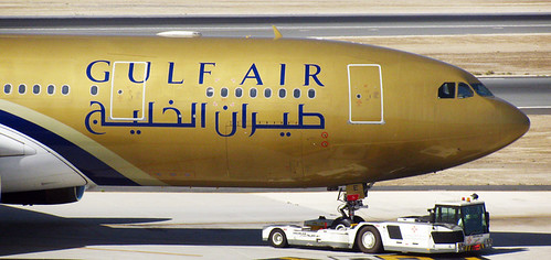 Gulf Air B777 - Towtime | by arunmct