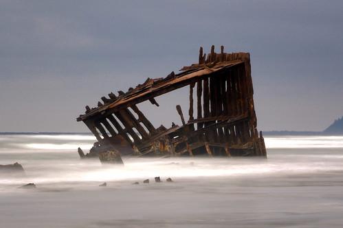 ocean longexposure beach oregon nikon pacific rusty shipwreck astoria wreck fortstevens peteriredale d5000