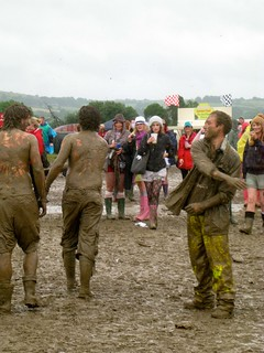 I respect the irish. The mud was not a deterrent from the fun, but a contributing factor.   by jetsetwhitetrash