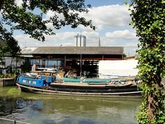 Boatyard at Brentford Docks