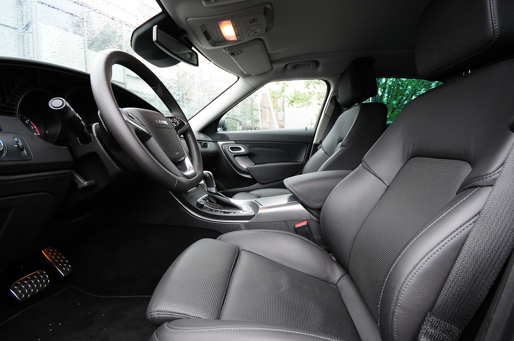 SAAB 9-5 ventilated leather seats