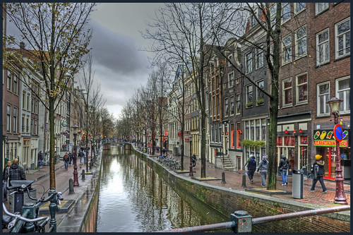 Red-light district (De Wallen) Amsterdam | by Bert Kaufmann