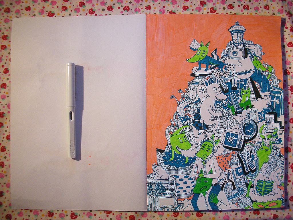 page-1  faber castell drawing book page one  teenagedoo