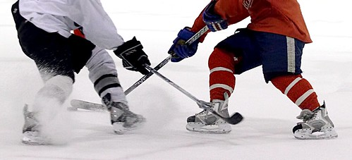 hockey sticks in chicago