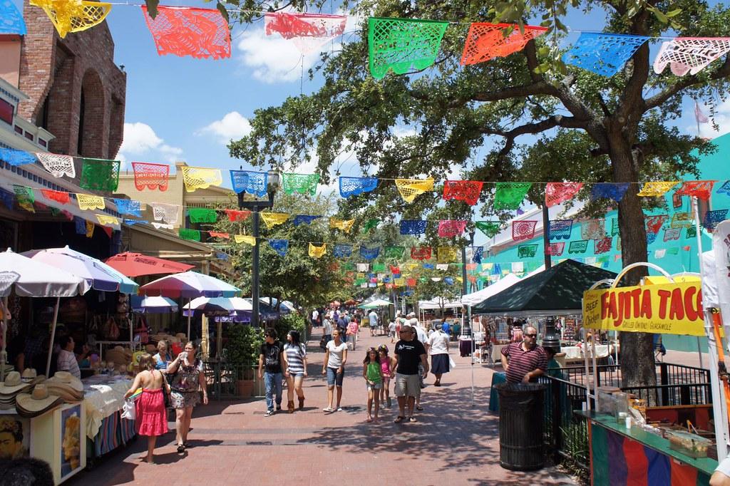 San Antonio Texas 3 8 Aug 2010 Market Square El Mercado