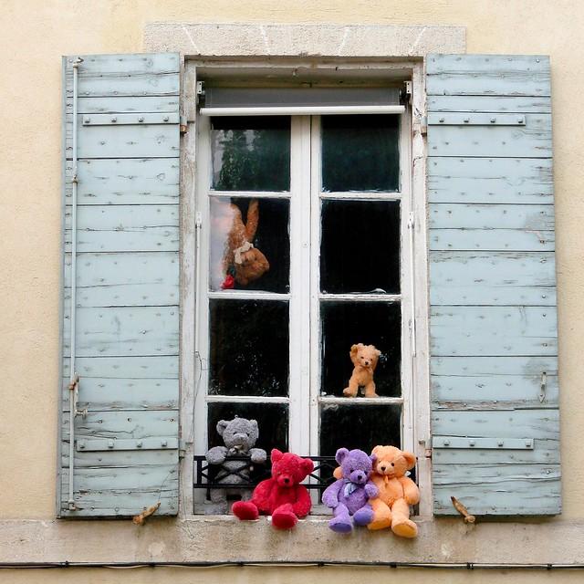 Le Printemps en Provence (la gaieté des ours)