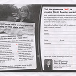 Addie Russell parks mailer (inside)