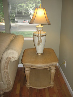 SOLD: End table + Lamp | by TheLivingRoominKenmore