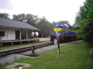 SAM Shortline Excursion Train in Plains, Georgia
