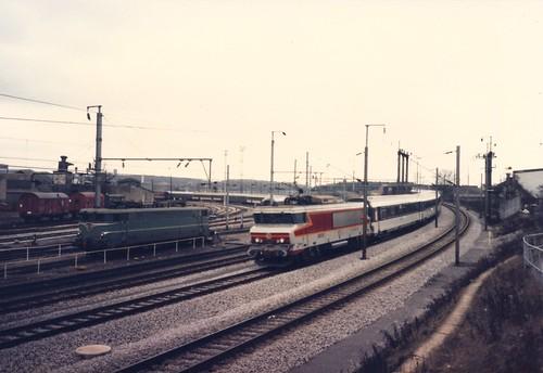 SNCF~0069 Locomotive BB 15033 'Gagny' arrive à Luxembourg | by Johannes J. Smit