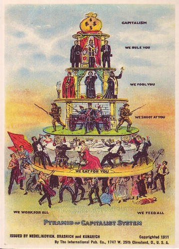 Pyramid of Capitalist System | by 50 Watts