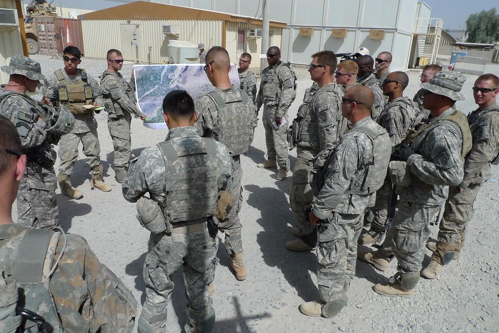 ISAF CSM visits 1-508PIR on June28 | International Security