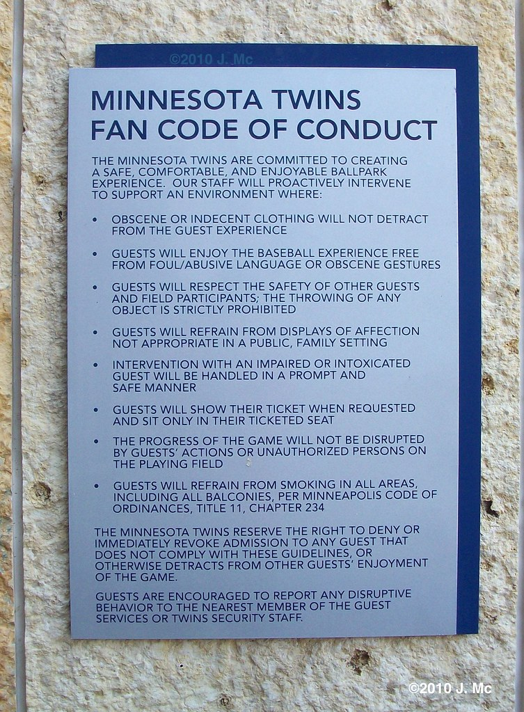 targets code of conduct
