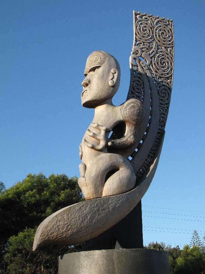 2010 07 13 (02) Te Kawerau A Maki Pou Whenua @ Olympic Par