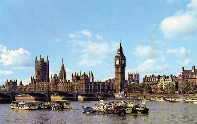 postcard - Parliament