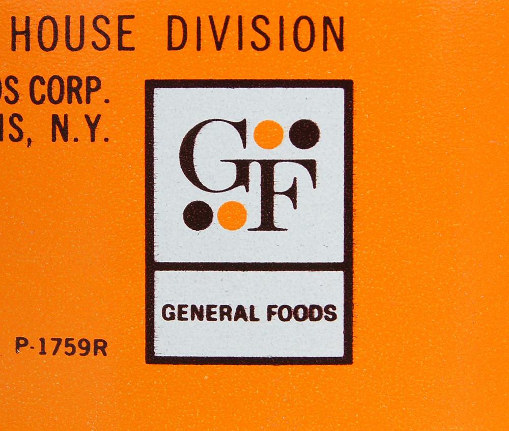 General Foods Logo, 1960's