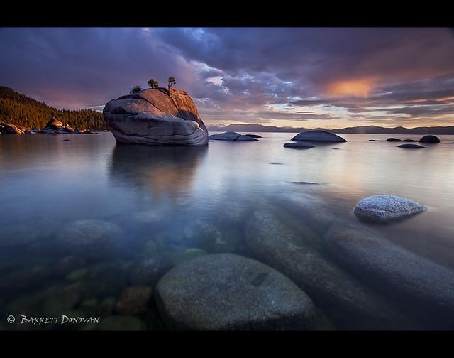 Parting Clouds, Lake Tahoe