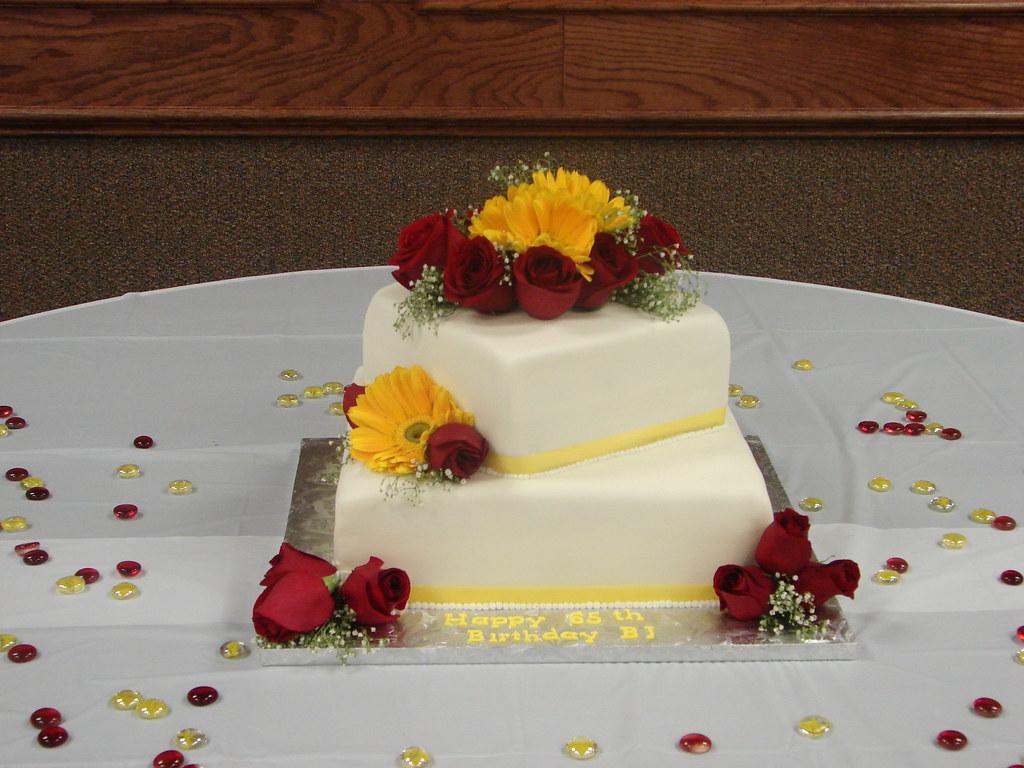 Pleasant Bjs 65Th Birthday Cake Littlesugarbakeshop Com Flickr Funny Birthday Cards Online Overcheapnameinfo