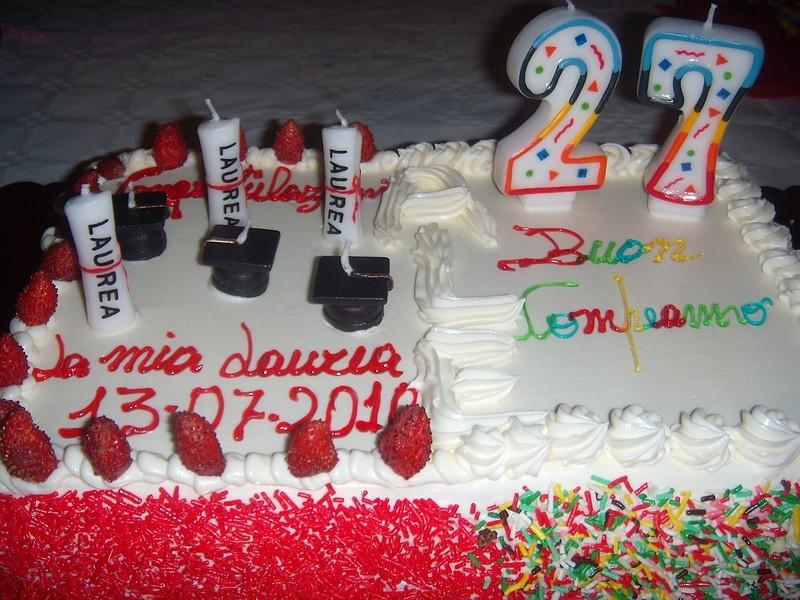 Astounding Graduation Birthday Cake Alessia Flickr Personalised Birthday Cards Beptaeletsinfo