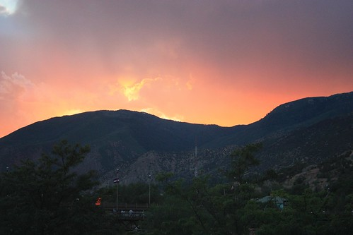 mountains colorado sunsets glenwoodsprings
