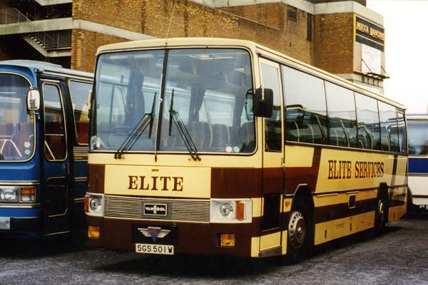 Van Hool Aragon AEC Reliance Elite Services of Sale SGS 50