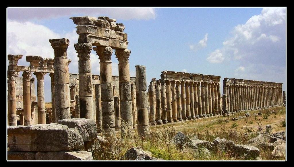 SYRIEN-Apamea, röm. Ruinenstadt, 10655