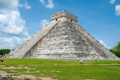 Gran Piramide de Kukulcan en Chichen Itza
