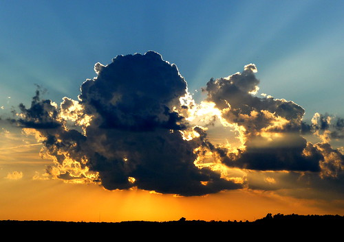 sunset sun nature clouds midwest prairie morgancounty jacksonvilleillinois bobbarber barberfarms