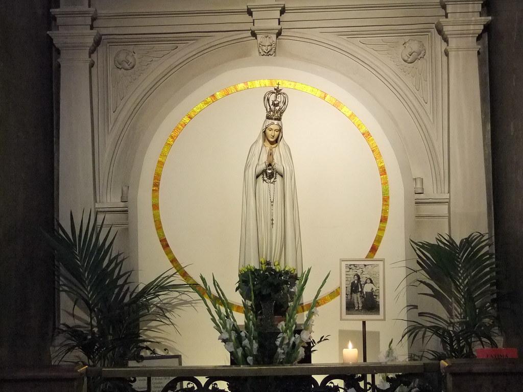 Igreja Franziskaner Kirche Nossa Senhora De Fatima Em Vie Flickr