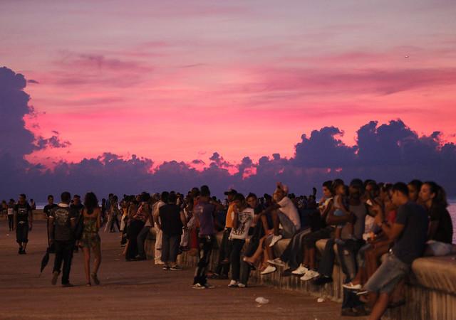 Serie Malecon Ciudad de la Habana Cuba - Popolo di Sognatori