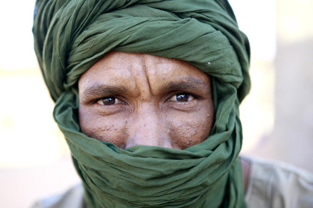 Portrait of Saharawi Refugee