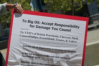 Make Big Oil Pay march to Chevron, EPA & BP 92