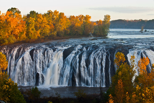 new york autumn ny fall water canon river waterfall scenery mark falls foliage ii mohawk 5d waterford cohoes 5dii