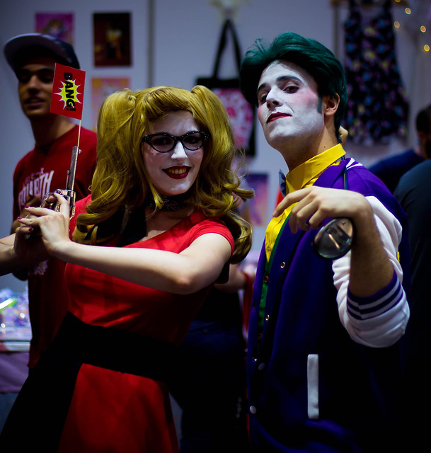 Hayley Quinn y Joker Cosplay