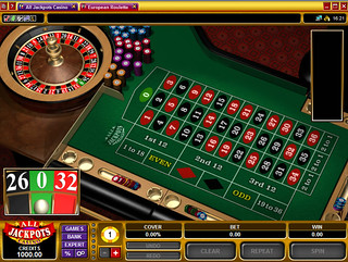 All Jackpots Casino Europear Roulette Preparing To Play Eu Flickr