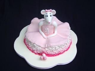 birthday cake designs Angelina Ballerina | by traceyt197