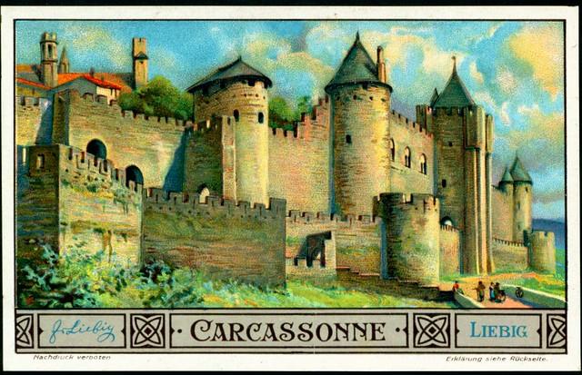 Liebig S1311 - European Cities - Carcassonne