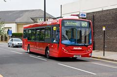 Metroline DE1121 (LK10BYM) in Finchley