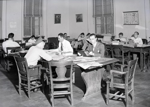 Cushing Library Reading Room | by Cushing Memorial Library and Archives, Texas A&M