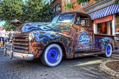 chevrolet truck nc nikon rat northcarolina pickup pickuptruck chevy hotrod hdr winstonsalem topaz ratrod hrw photomatix kustomkulture heavyrebelweekender dougjohnson d700 topazadjust