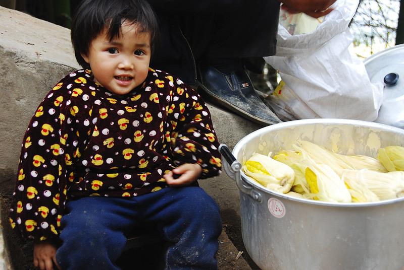 賣玉蜀黍的小女孩 1
