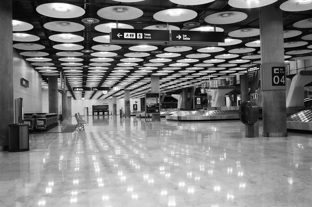 Empty Airport | Leica M6 Summarit 35mm Ilford HP5+ | Walker ...