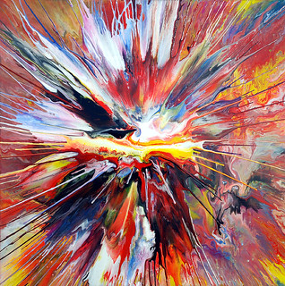 Liquid Explosion Painting!   by markchadwickart