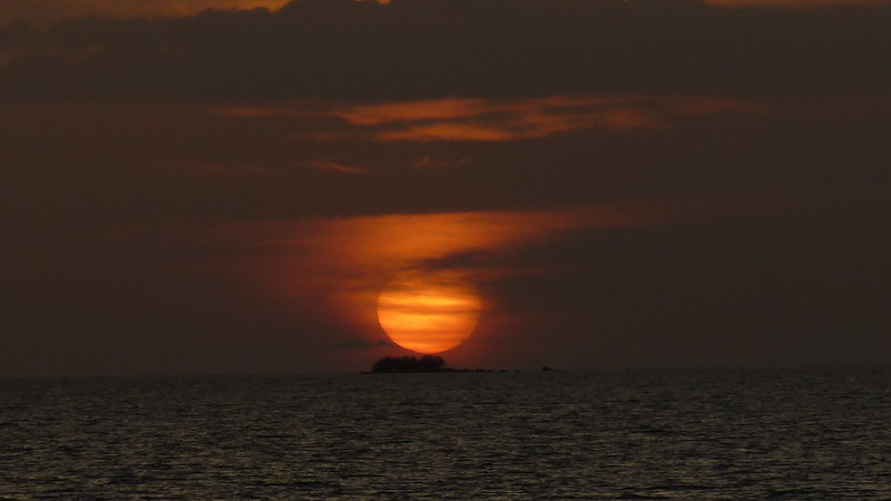 Koh Samui Sunset サムイ島 夕日2