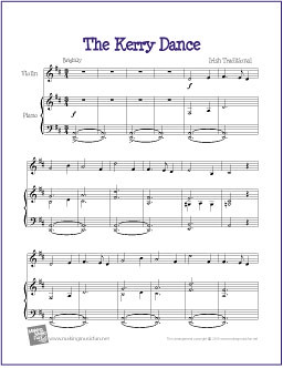 The Kerry Dance | Free Violin Sheet Music (PDF) | The Kerry … | Flickr