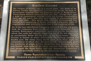 Erailen Gwome | by Geographer-at-Large